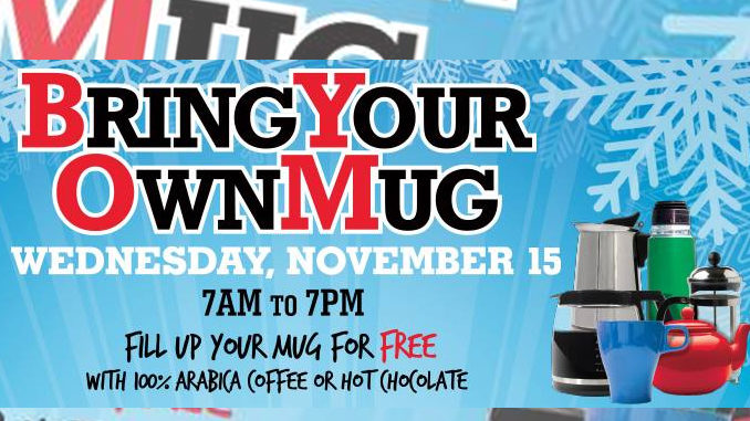 Bring Your Own Mug Day Returns To 7-Eleven Canada On November 15, 2017