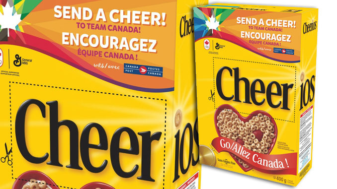 Cheerios Unveils New 'Cheer' Box In Support Of Canada's 2018 Winter Olympians
