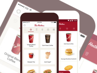 Free Coffee With Any Three Mobile App Purchases At Tim Hortons Through December 31, 2017