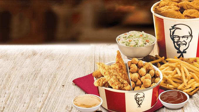 KFC Canada Offers $30 Festive Double Bucket