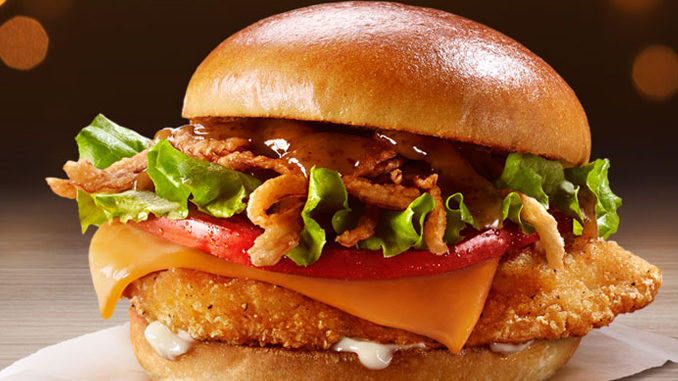 McDonald's Canada Introduces New Maple And Cheddar Seriously Chicken Sandwich