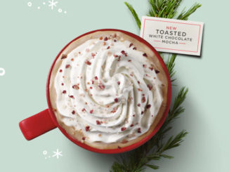 Starbucks Canada Launches New Toasted White Chocolate Mocha For The 2017 Holiday Season