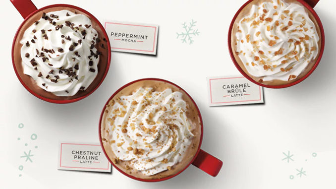Starbucks Canada Offers Buy One Holiday Drink, Get One Free From November 9 to 13, 2017