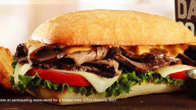 Tim Hortons Launches New Chipotle Steak Sandwich