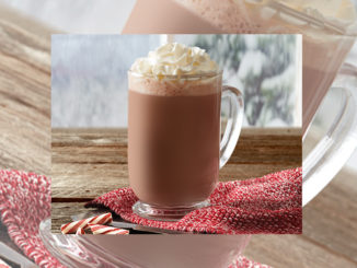 Tim Hortons Serves New Peppermint Mocha Latte For The 2017 Holiday Season