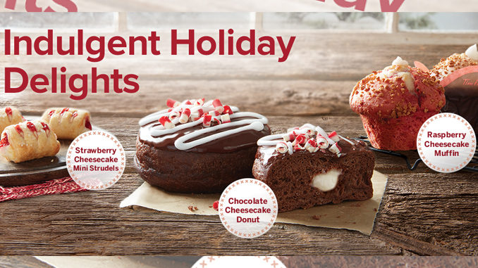 Tim Hortons Unveils 2017 Holiday Treats Menu Featuring The New Chocolate Cheesecake Donut