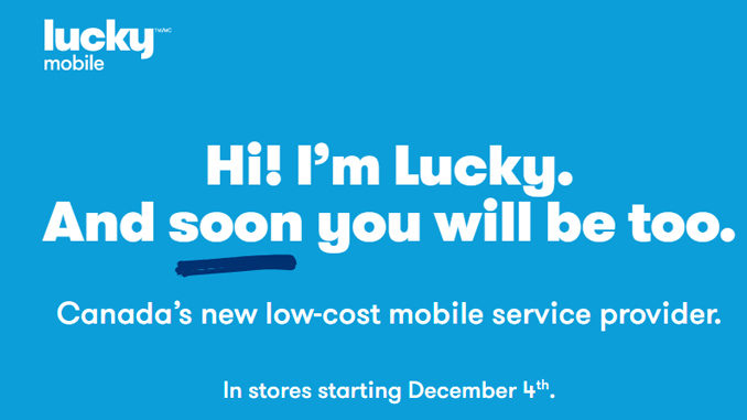 Bell Unveils New Low-Cost Prepaid Wireless Service Called Lucky Mobile