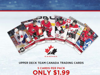 Canadian Tire Unveils Exclusive 2017-18 Upper Deck Team Canada Trading Cards