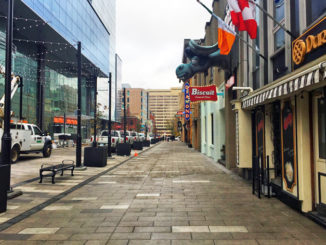 Halifax Wins Best Urban Street Transformation Award For Argyle & Grafton Shared Streetscape Project