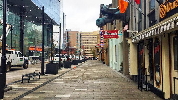 Halifax Wins Best Urban Street Transformation Award For Argyle & Grafton Shared Streetscape Project