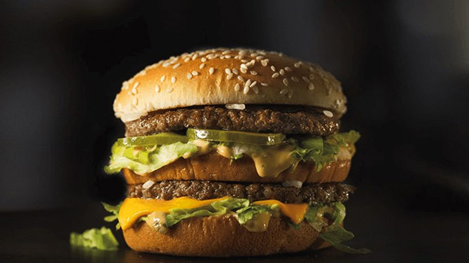 McDonald's Canada Is Selling Big Macs For $1 At Select Locations Through December 24, 2017
