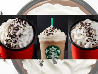Starbucks Canada Offers New Black & White Mocha Drinks To Celebrate New Year's