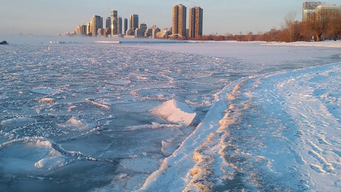 Toronto Polar Bear Club Cancels 2018 New Year's Day Dip Due To Ice Conditions