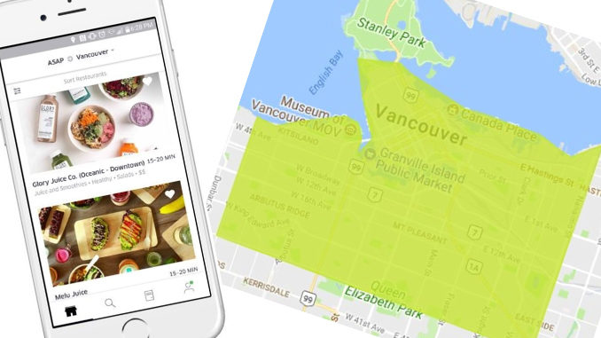 UberEATS Arrives In Vancouver, Canada