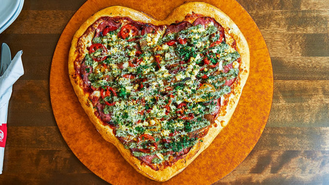 Boston Pizza Will Be Serving Heart-Shaped Pizzas On February 14, 2018