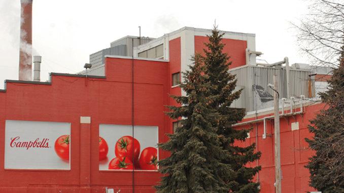 Campbell Soup Company Shutting Down Toronto Soup Facility