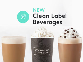Second Cup Announces Commitment To Clean Label Beverages