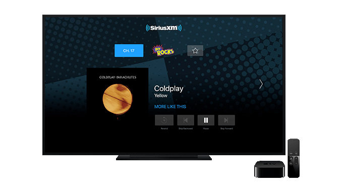 SiriusXM Canada Now Streams On Apple TV
