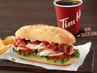 Tim Hortons Introduces New And Improved Turkey Bacon Club Sandwich