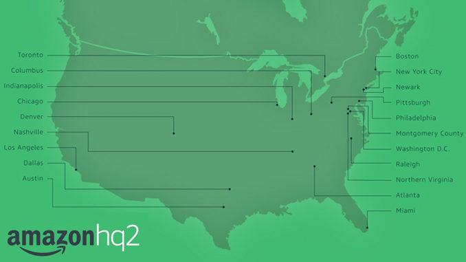 Toronto Makes Short List To Host Amazon's HQ2