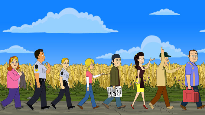 Animated 'Corner Gas' Set To Debut On April 2, 2018