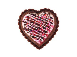 Baskin-Robbins Canada Introduces New Heart Shaped Polar Pizza For Valentine's Day