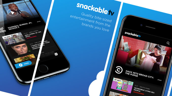 Bell Launches New SnackableTV Video App