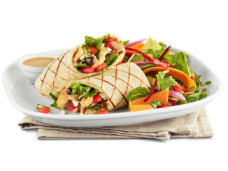 Boston Pizza Rolls Out New Mediterranean Chicken Wrap