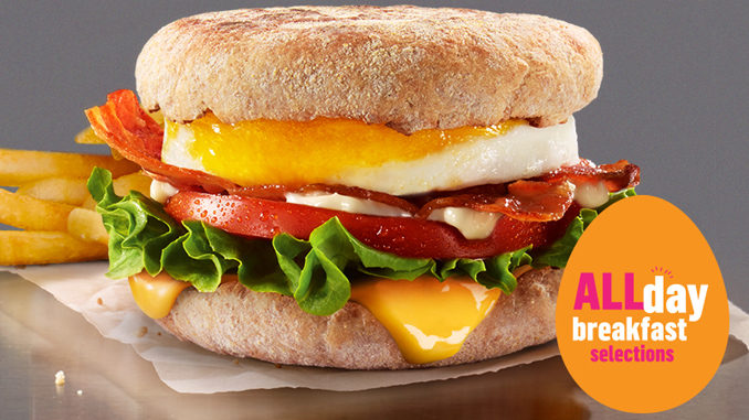 Egg BLT McMuffin Returns To McDonald's Canada