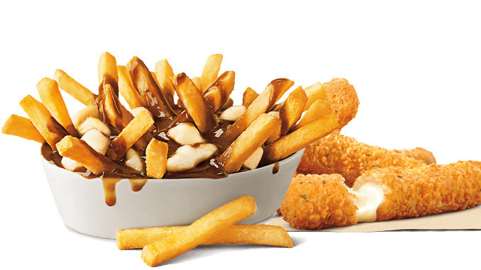 Poutine And Mozzarella Sticks Return To Burger King Canada