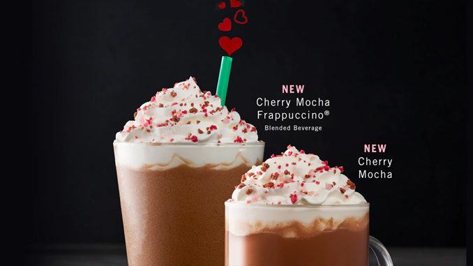 Starbucks Canada Rolls Out New Cherry Mocha For Valentine's Day
