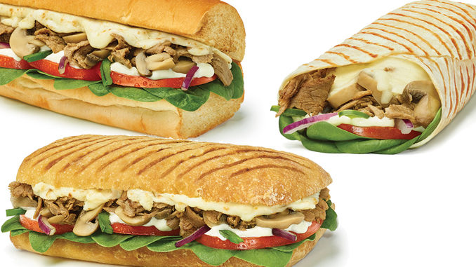 Subway Canada Launches New Steak Mushroom Melts