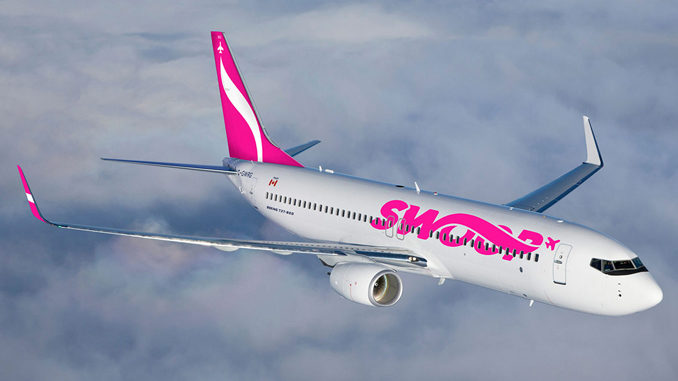 Swoop, Westjet's Discount Airline, Offers $7.50 One-Way Flights