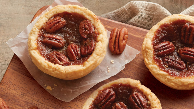 Tim Hortons Bakes Up New Pecan Butter Tarts