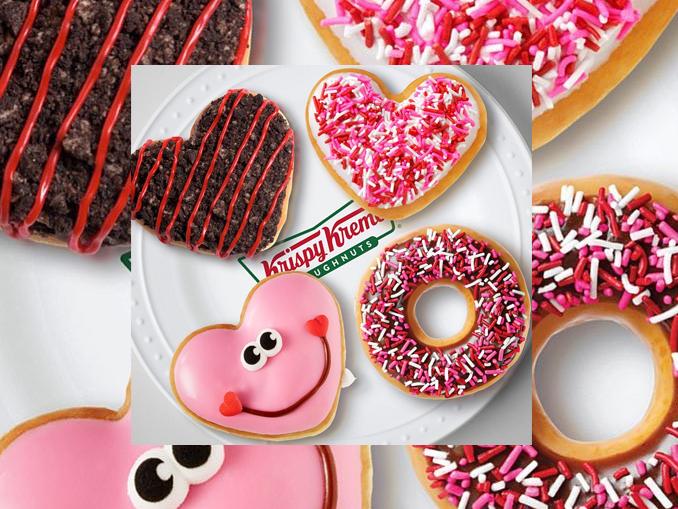 valentine s day doughnuts land at krispy kreme canada. Black Bedroom Furniture Sets. Home Design Ideas