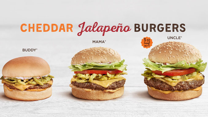 A&W Canada Introduces New Cheddar Jalapeno Burgers