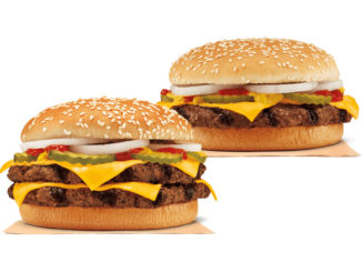 Burger King Canada Introduces New Double Quarter Pound King And Quarter Pound King