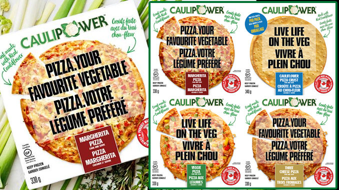 Caulipower Frozen Pizza Now Available In Canada