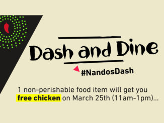 Free Chicken At Nando's Canada On March 25, 2018