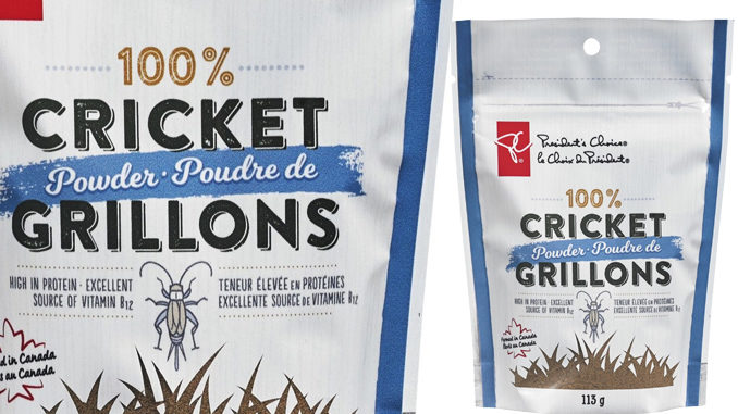 Loblaw Introduces New President's Choice Cricket Powder