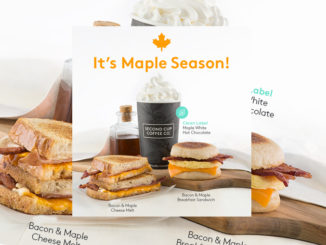 Maple Season Arrives At Second Cup Featuring New Maple White Hot Chocolate