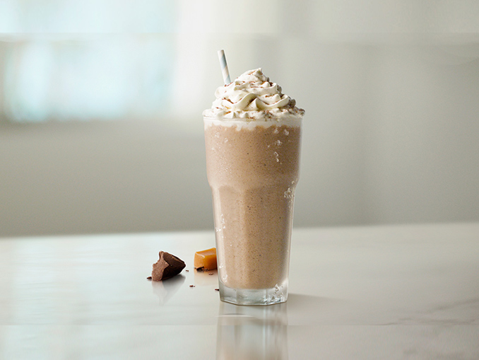 Mcdonald S Canada Debuts New Caramel Chocolate Coffee Iced Frappe Latte And Mocha Canadify