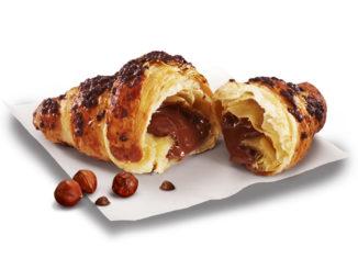 McDonald's Canada Chocolate Hazelnut Croissant