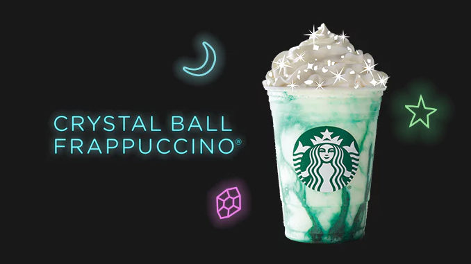 Starbucks Canada Reveals New Crystal Ball Frappuccino