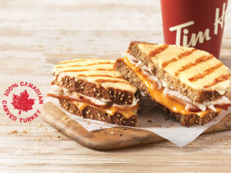 Tim Hortons Introduces New Tims Signature Turkey Melt