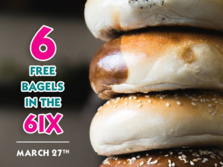 What A Bagel Is Giving Away 6 Free Bagels On March 27, 2018