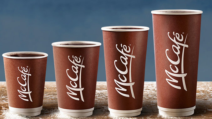 $1 Any Size Coffee At McDonald's Canada Through April 29, 2018
