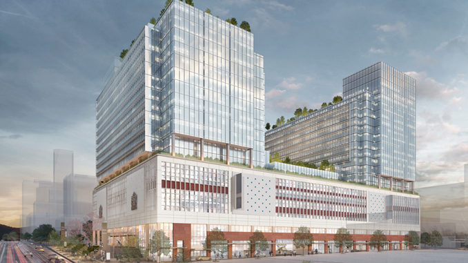 Amazon Is Turning Vancouver's Old Canada Post Building Into Their New HQ