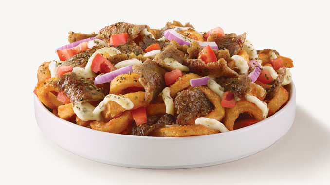 Arby's Canada Introduces New Gyro Loaded Curly Fries