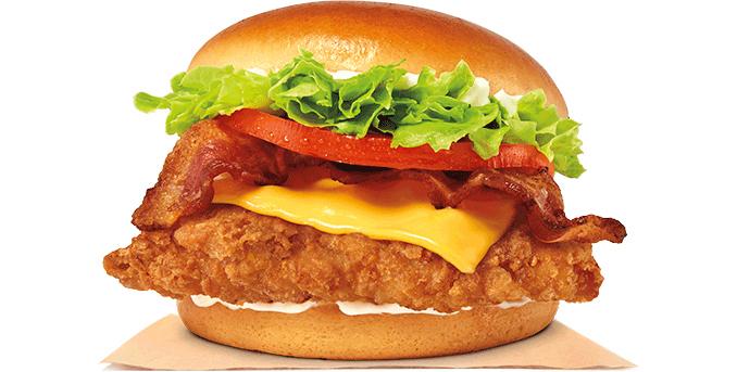 Bacon & Cheese Crispy Chicken Sandwich